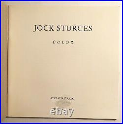JOCK STURGES COLOR 2003. VERY RARE. 1st Edition. Excellent Condition. PRICE