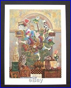 James Christensen Limited Edition Print Balancing Act Excellent Condition