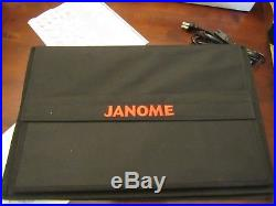 Janome Memory Craft 8900 QCP Special Edition Excellent Condition
