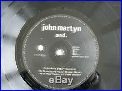 John Martyn And Rare Vinyl Lp Excellent Condition Limited Edition