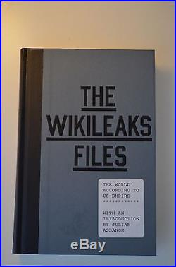 Julian Assange The Wikileaks Files Signed First Edition (excellent condition)
