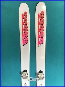 K2 Pinnacle 118 skis with Bindings Limited edition Excellent Condition POWDER