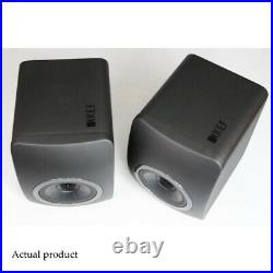 KEF LS50 Speakers Black Edition Excellent condition Boxed