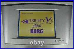 Korg Trinity V3 pro (with MOSS feature) in Excellent Condition Version 3.1.0