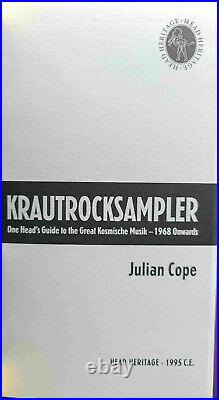Krautrocksampler by Julian Cope (1995) 1st Edition in Excellent Condition