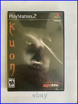 Kuon PS2 US Version Complete, Excellent Condition, All Original, Never Played