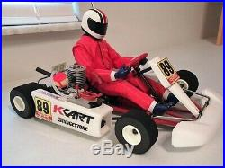 Kyosho Kart 10 Nitro RC Second Version Excellent Condition Vintage EXTRAS