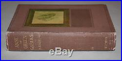 L. M. Montgomery ANNE OF GREEN GABLES 1st UK/Early Edition Excellent condition
