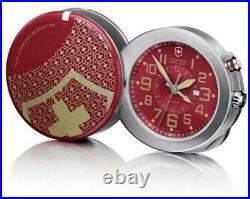LIMITED EDITION Victorinox Swiss Army Travel Alarm Clock In Excellent Condition