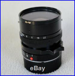 Leica Elmarit M 28mm F2.8 3rd Version with Hood + extras-Excellent condition