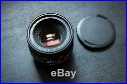Leica R 50mm Summicron f/2.0 Version 2 Excellent condition, great optics