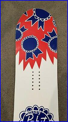 Lib Tech Pabst Blue Ribbon Limited Edition 156 Snowboard Excellent Condition