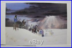 Limited edition print-Guiding Light by Donald Vann excellent condition