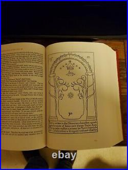 Lord Of The Rings 1965 Collectors Edition Book In Excellent Condition