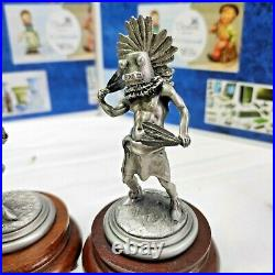 Lot Of 5 Chilmark Fine Pewter Limited Edition. Excellent Condition