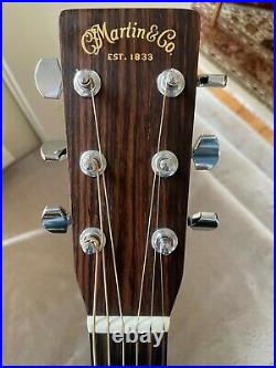 Martin D-28 Acoustic Guitar 2008 175th Anniversary Edition Excellent Condition