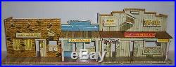 Marx Western Town Jail Side Version RARE EXCELLENT condition