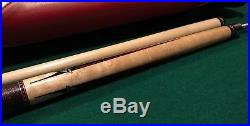 Mcdermott Limited Edition Snap-on Pool Cue And Case Set Excellent Condition