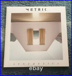 Metric-Synthetica Ltd Edition White Vinyl Used Excellant Condition
