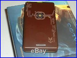 Microsoft 30 gb halo 3 limited edition brown zune complete excellent condition