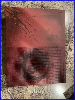 Microsoft Xbox One S Gears of War 4 Limited Edition Excellent condition