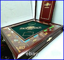 Monopoly The Collectors Edition by Franklin Mint complete excellent condition