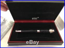 Montblanc Writers Edition Mark Twain Rollerball Pen Excellent Condition