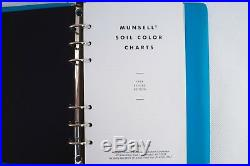 Munsell Soil Color Charts Book Index Guide 1994 Edition Excellent Condition