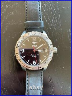 Mustang Shinola LImited Edition Very Rare Watch #825/1000. Excellent Condition