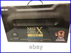 NEO GEO X Gold Limited Edition COMPLETE EXCELLENT CONDITION