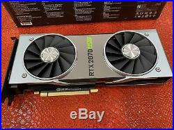 NVIDIA GeForce RTX 2070 SUPER Founders Edition 8GB GDDR6 Excellent Condition