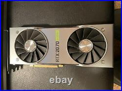 NVIDIA GeForce RTX 2070 Super Founders Edition GDDR6 8GB EXCELLENT CONDITION