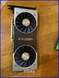 NVIDIA GeForce RTX 2080 TI Founders Edition (Excellent Working Condition)