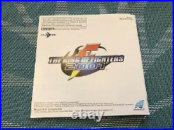 Neo Geo Aes King Of Fighters 2001, English Version, Cib, Excellent Condition