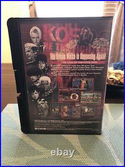 Neo Geo Aes King Of Fighters 2002, English Version, Cib, Excellent Condition
