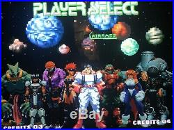 Neo Geo GALAXY FIGHT English AES Version Excellent Condition No Manual