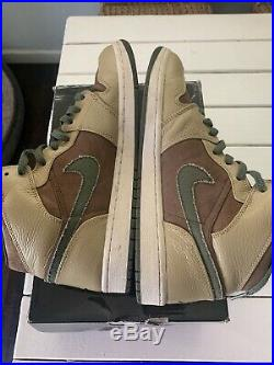 Nike Air Jordan 1, 2007 Size 11 Military Edition -325514 231 Excellent Condition