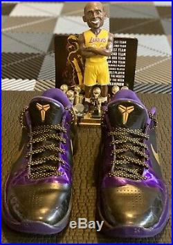 Nike Kobe 5 V Lakers Size 11 Mens SUPER RARE (Away Edition) Excellent Condition