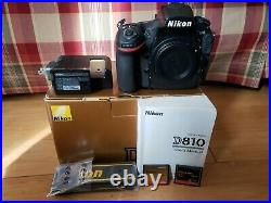 Nikon D810 Low shutter count excellent condition rarely used! USA version