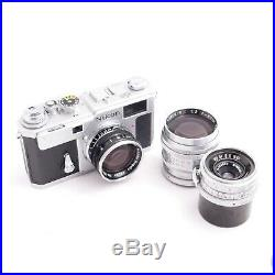 Nikon S3 Limited Edition Year 2000 Millennium +3 lenses in excellent condition