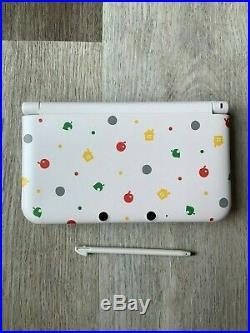 Nintendo 3DS XL Animal Crossing Edition Handheld System Excellent condition