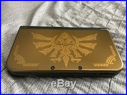 Nintendo 3DS XL Limited Edition Hyrule Gold Excellent Condition