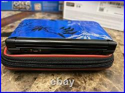 Nintendo 3DS XL Pokemon X and Y XERNEAS YVELTAL BLUE EDITION Excellent Condition