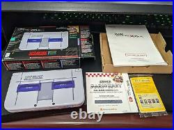 Nintendo New 3DS XL SNES Edition Complete In Box Excellent Condition Code Unused