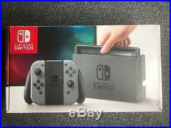 Nintendo Switch 32gb Console Grey Edition Boxed Excellent Condition