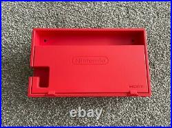 Nintendo Switch Limited Edition Red & Blue Mario Console Excellent Condition
