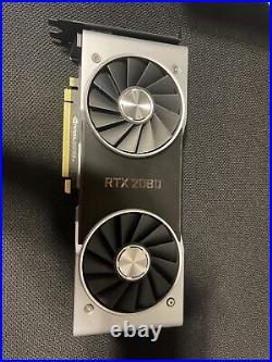 Nvidia geforce rtx 2080 founders edition, Fast Shipping, Excellent Condition
