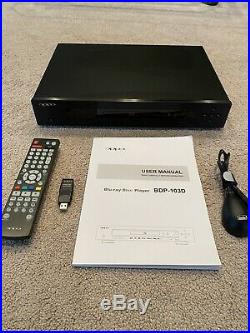 OPPO BDP-103D Universal 3D Blu-ray Player (Darbee Edition)-EXCELLENT CONDITION