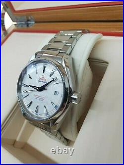 Omega Seamaster Aqua Terra 150M Golf Edition withextra straps Excellent Condition