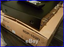 Oppo BDP-103 3D Blu-ray Player Darbee Edition Excellent Condition